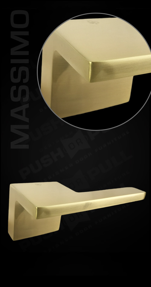 Massimo Push Or Pull Architectural Door Handles
